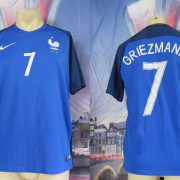 France EURO 2016 2017 home shirt Nike football top maillot Griezmann 7 size M
