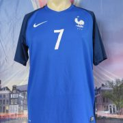 France EURO 2016 2017 home shirt Nike football top maillot Griezmann 7 size M (2)