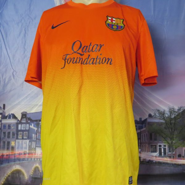 Vintage Barcelona 2012 2013 away shirt Nike football top size S (1)
