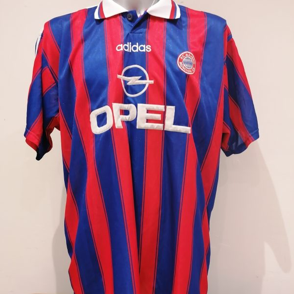 Vintage Bayern Munchen 1995 1996 1997 Home shirt adidas trikot jersey size XXL (1)