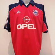 Vintage Bayern Munchen 1999 2000 2001 home shirt adidas trikot jersey size XXL (1)