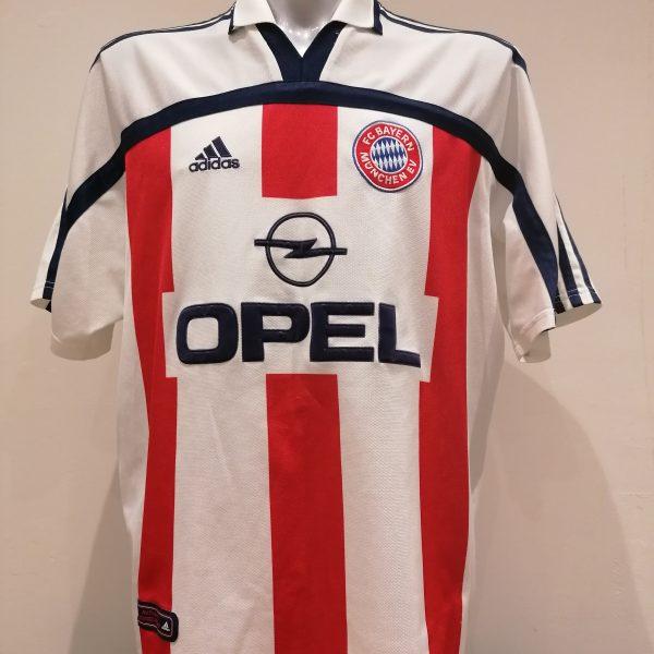 Vintage Bayern Munchen 2000 2001 away shirt adidas Munich trikot size XXL (1)