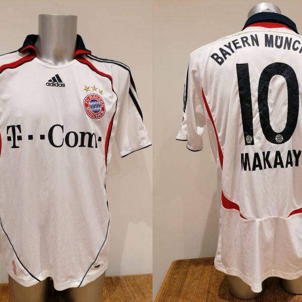 Vintage Bayern Munchen 2006 2007 BL away shirt adidas Makaay 10 size L (1)