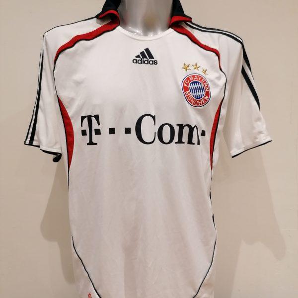 Vintage Bayern Munchen 2006 2007 BL away shirt adidas Makaay 10 size L (2)