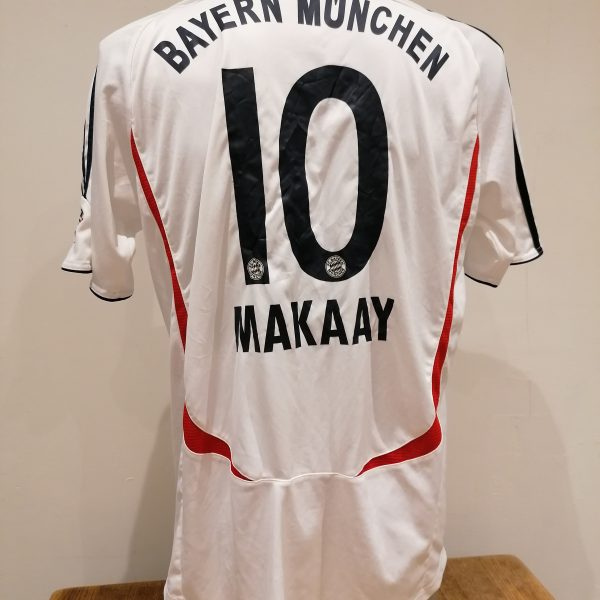 Vintage Bayern Munchen 2006 2007 BL away shirt adidas Makaay 10 size L (5)
