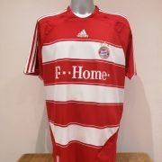 Vintage Bayern Munchen 2007 2008 2009 home shirt adidas trikot top size XXL (1)