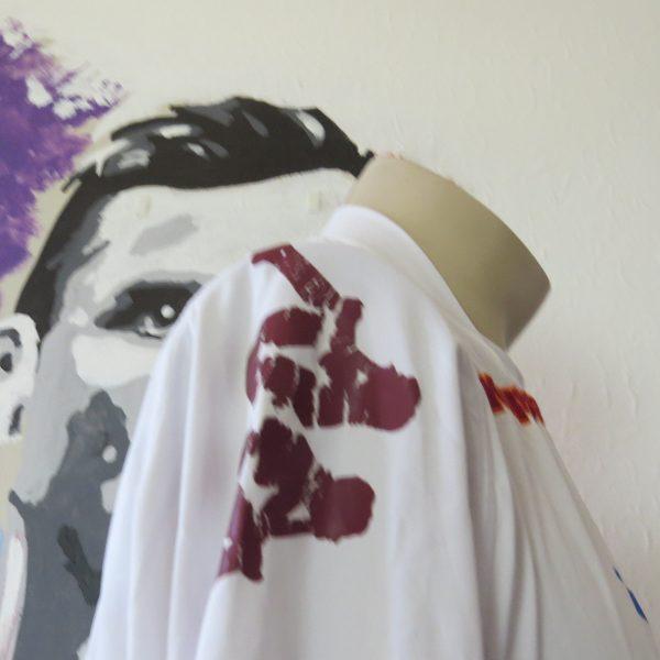 Vintage AS Roma 2008 2009 ls away shirt Kappa Gara tight fitting size XL (6)