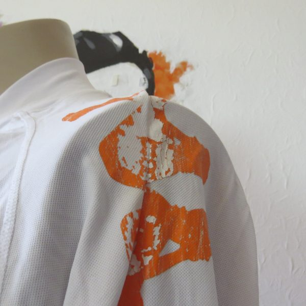 Vintage AS Roma 2008 2009 ls away shirt Kappa Gara tight fitting size XL (7)