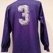 Vintage Adidas 1991 1992 purple football shirt #3 size L (2)