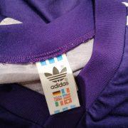 Vintage Adidas 1991 1992 purple football shirt #3 size L (3)