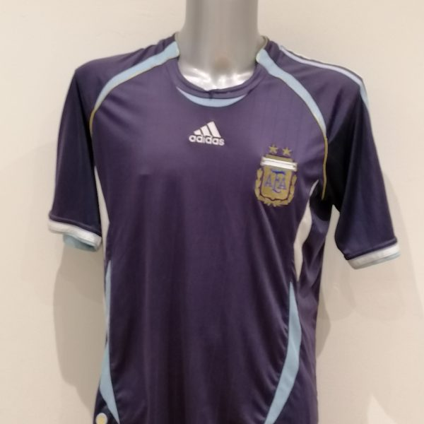 Vintage Argentina World Cup 2006 2007 away shirt adidas size L (1)