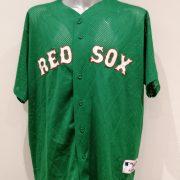 Vintage Boston Red Sox baseball jersey Majestic shirt size 2XL (1)