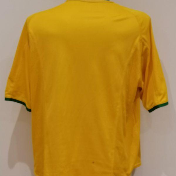 Vintage Brazil 2000 2001 2002 home shirt NIKE Brasil soccer jersey size XL (1)