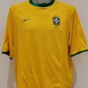Vintage Brazil 2000 2001 2002 home shirt NIKE Brasil soccer jersey size XL (2)