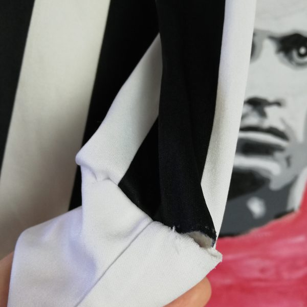 Vintage Juventus 1989 1990 home shirt Kappa jersey 11 Schillaci size S ultra rare (5)