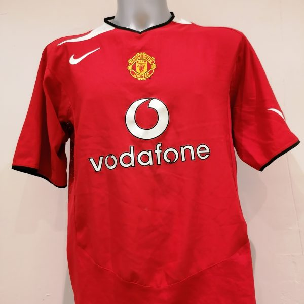 Vintage Manchester United 2004 2005 2006 home shirt Nike football top size XL (1)