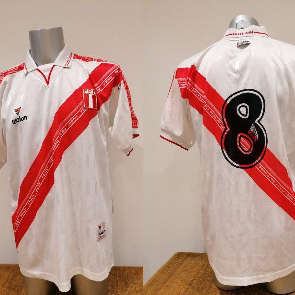 Vintage Peru Gold Cup 2000 Copa America 2001 2002 home shirt Walon size XL
