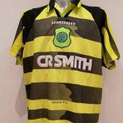 celtic 1996 97 away XXL