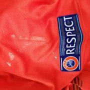 Albania 2016 2017 home shirt Macron Mavraj 15 trikot jersey size M (3)