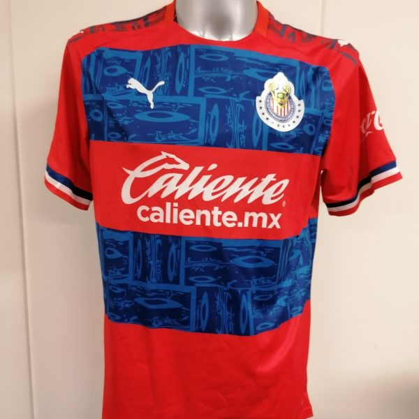 Chivas de Guadalajara 2019 2020 away shirt Puma jersey A. Pulido 9 size L (1)