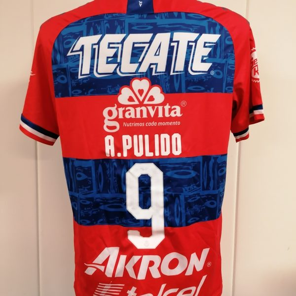 Chivas de Guadalajara 2019 2020 away shirt Puma jersey A. Pulido 9 size L (3)