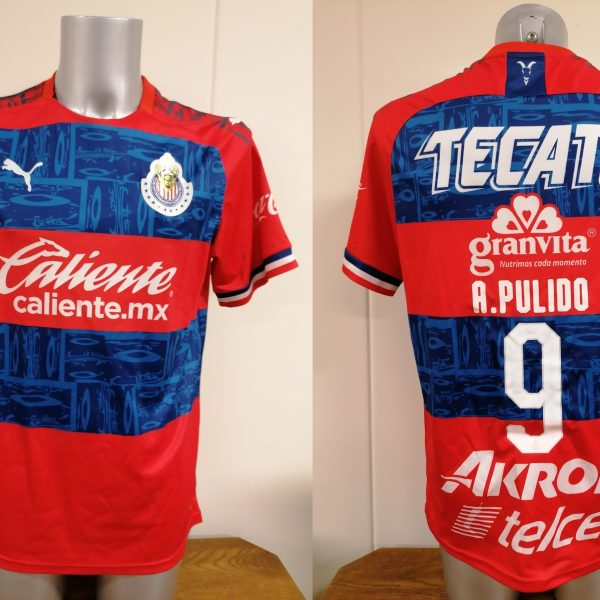 Chivas de Guadalajara 2019 2020 away shirt Puma jersey A. Pulido 9 size L