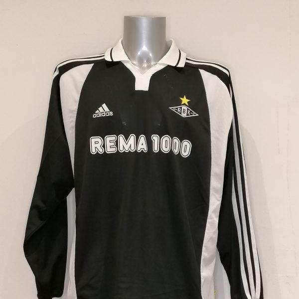 Match worn issue Rosenborg BK 2000 Champions league away shirt Tronseth 25 (6)