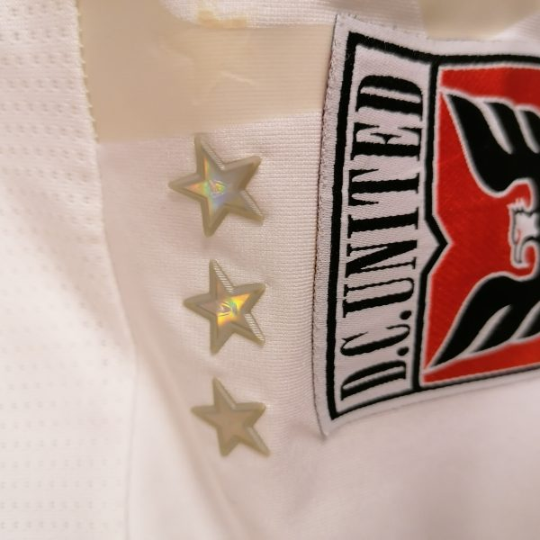Player issue DC United 2010 2011 ls MLS Adidas Techfit away shirt size L soccer jersey (3)