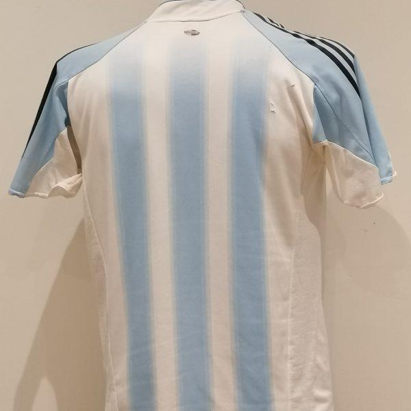 Vintage Argentina 2004 2005 home shirt adidas size 34 36 176 boys XL (3)