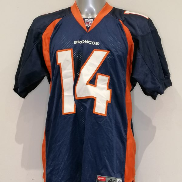 Vintage Denver Broncos jersey NFL 1990ies Brian Griese 14 shirt size 44 L (5)