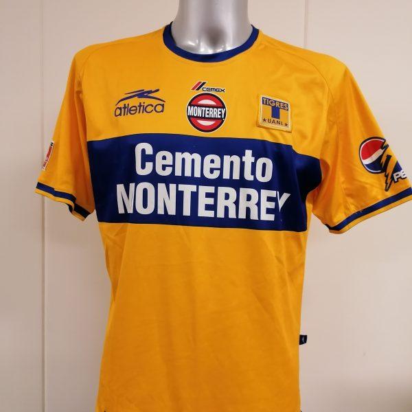 Vintage Tigres UANL 2002 home shirt Atletica soccer jersey size M (1)