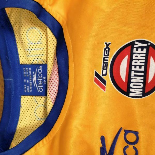 Vintage Tigres UANL 2002 home shirt Atletica soccer jersey size M (4)