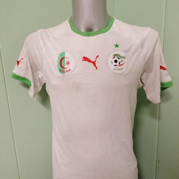 Algeria 2014 World Cup 2015 home shirt Puma football jersey size S (1)