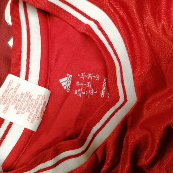 Bayern Munchen 2013 2014 home shirt adidas soccer jersey size YL 164 13-14Y (2)