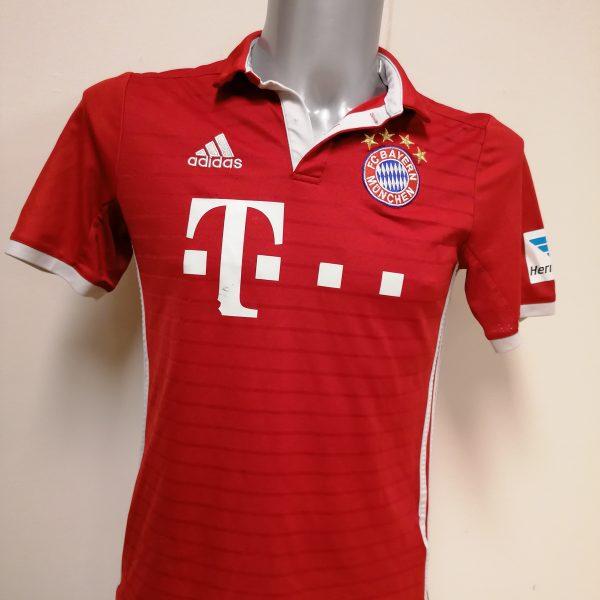 Bayern Munchen 2016 2017 home shirt adidas Lewandowski 9 Boys XL 1516Y 176 (2)