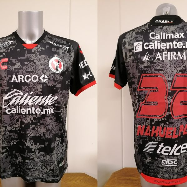 Club Tijuana 2019 2020 away shirt Charly jersey Nahuelpan 32 size L
