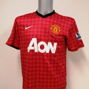Manchester United 2012 2013 EPL home Nike football shirt Van Persie #20 size M (1)