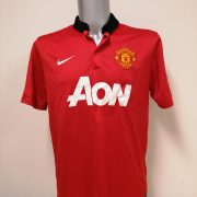 Manchester United 2013 2014 home Nike football shirt size L (1)