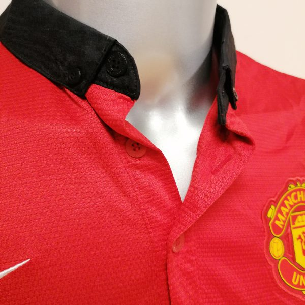 Manchester United 2013 2014 home Nike football shirt size L (2)