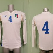 Player issue Italy ladies ca 2008 away shirt Puma soccer jersey #4 EU38 UK12 M