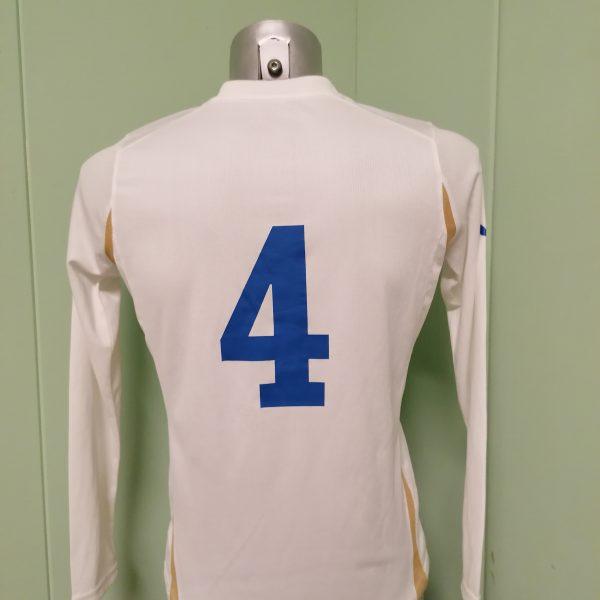 Player issue Italy ladies ca 2008 away shirt Puma soccer jersey #4 EU38 UK12 M (2)