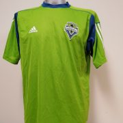 Seattle Sounders MLS Adidas climalite training jersey shirt size L soccer (1)
