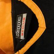 Vintage AS Roma 2008 ls black polo shirt kappa soccer jersey size M (3)