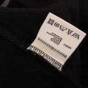 Vintage AS Roma 2008 ls black polo shirt kappa soccer jersey size M (4)