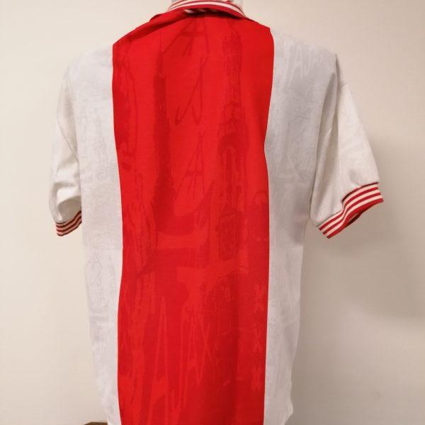 Vintage Ajax 1996 1997 home shirt Umbro football top size L (2)