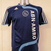 Vintage Ajax 2007 2008 away shirt adidas soccer jersey size Boys XL 176 16Y (1)