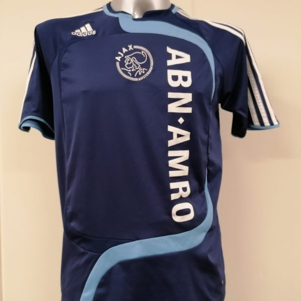 Vintage Ajax 2007 2008 away shirt adidas soccer jersey size Boys XL 176 16Y (7)
