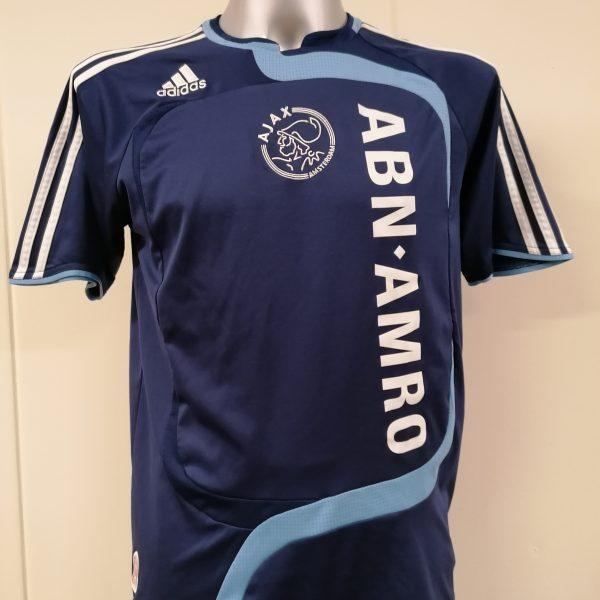 Vintage Ajax 2007 2008 away shirt adidas soccer jersey size Boys XL 176 16Y (8)