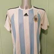 Vintage Argentina 2005 World Cup 2006 2007 basic home shirt adidas size L (1)