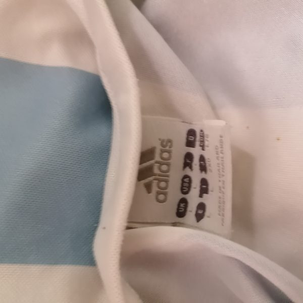 Vintage Argentina 2005 World Cup 2006 2007 basic home shirt adidas size L (2)